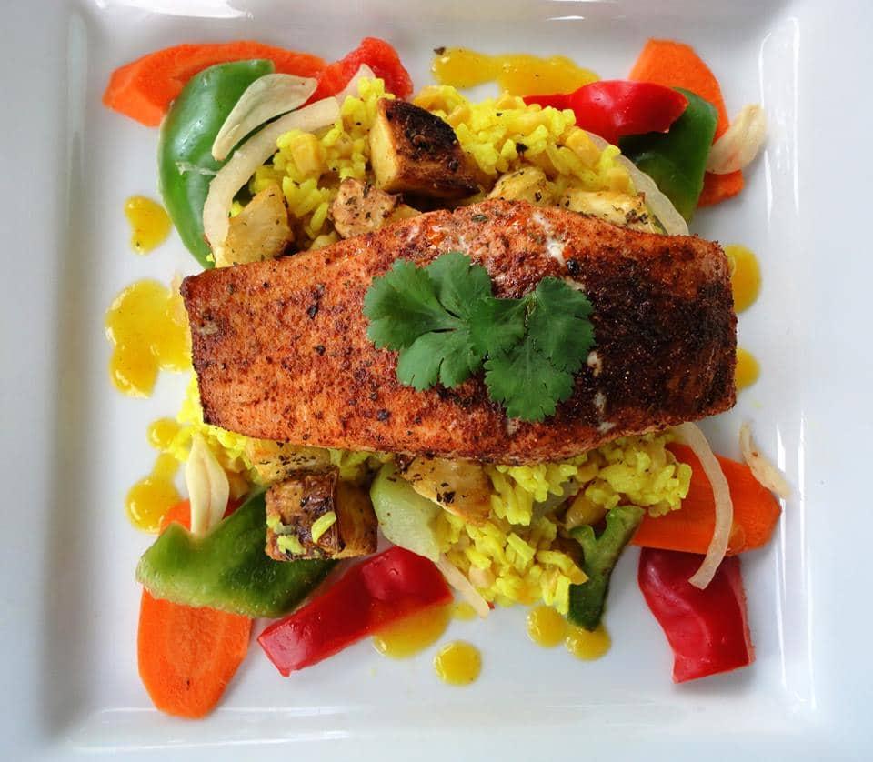 salmon My Chef Orlando